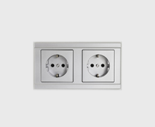 Aluminium socket by PAHI Barcelona