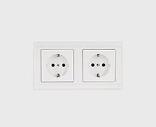 White socket by PAHI Barcelona