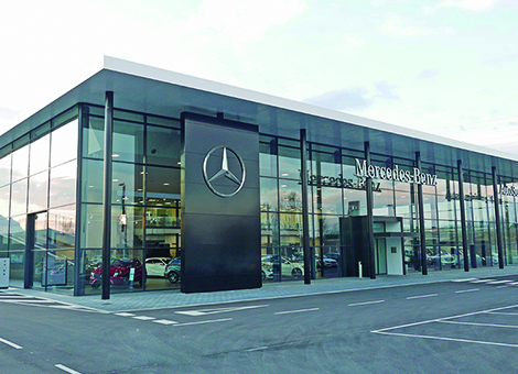 New Mercedes-Benz dealership