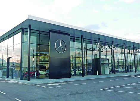 Nuevo concesionario Mercedes-Benz