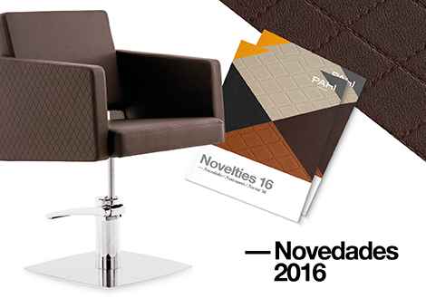 NOVEDADES 2016. Nuevos productos, acabados y accesorios.
